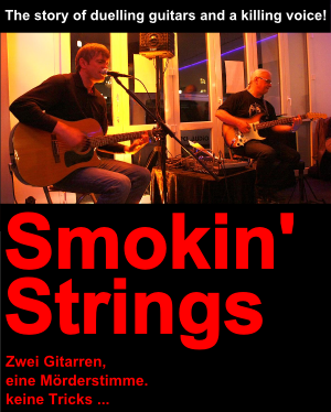 smokin strings plakat
